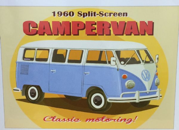 Split Screen Campervan